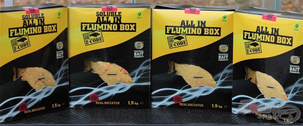 Az SBS Flumino termékek 2013-tól külön-külön és All In Boxban is megvásárolhatóak!