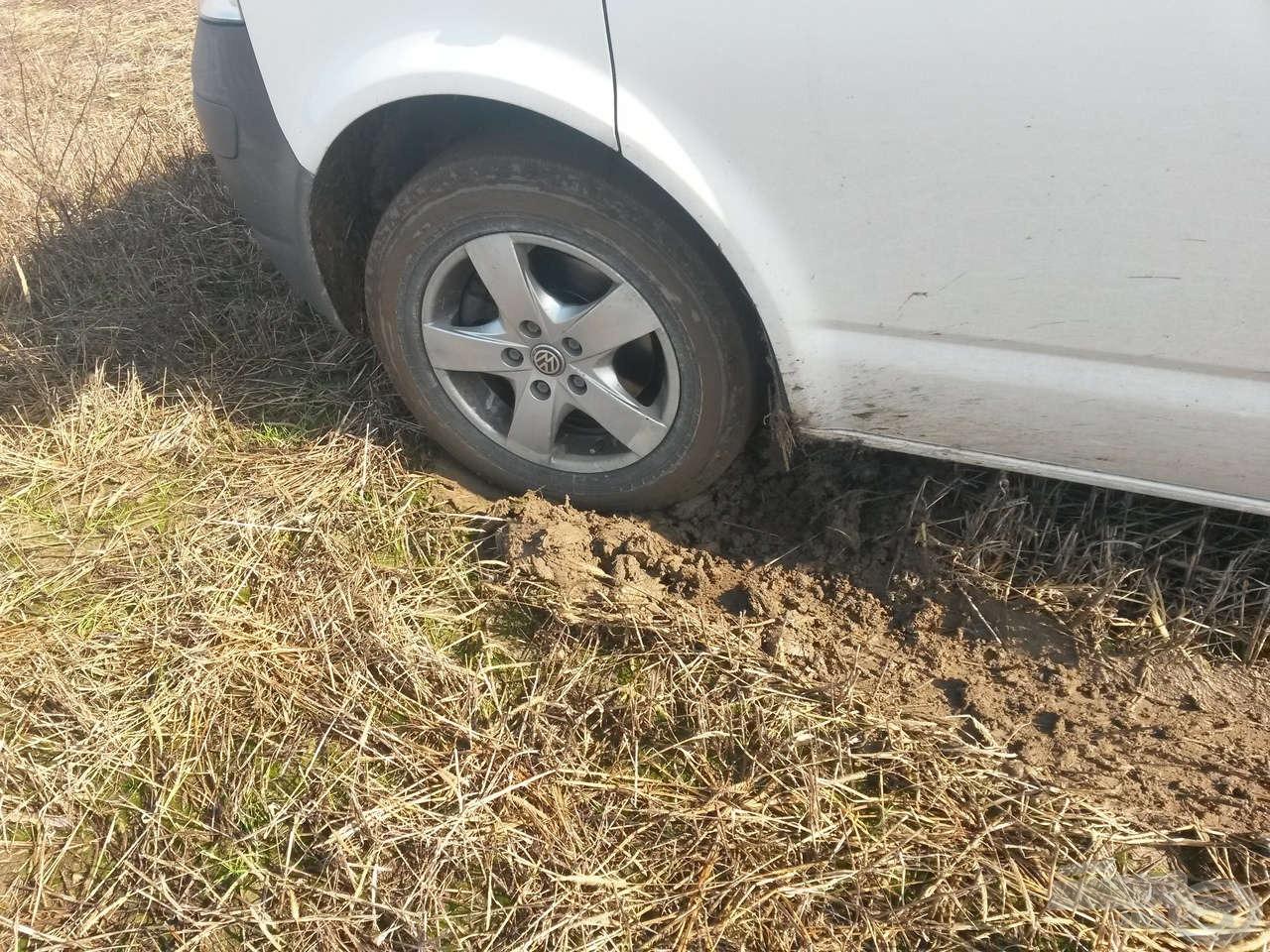 A Transporter a túra végéig meg is találta a kis parkolóját