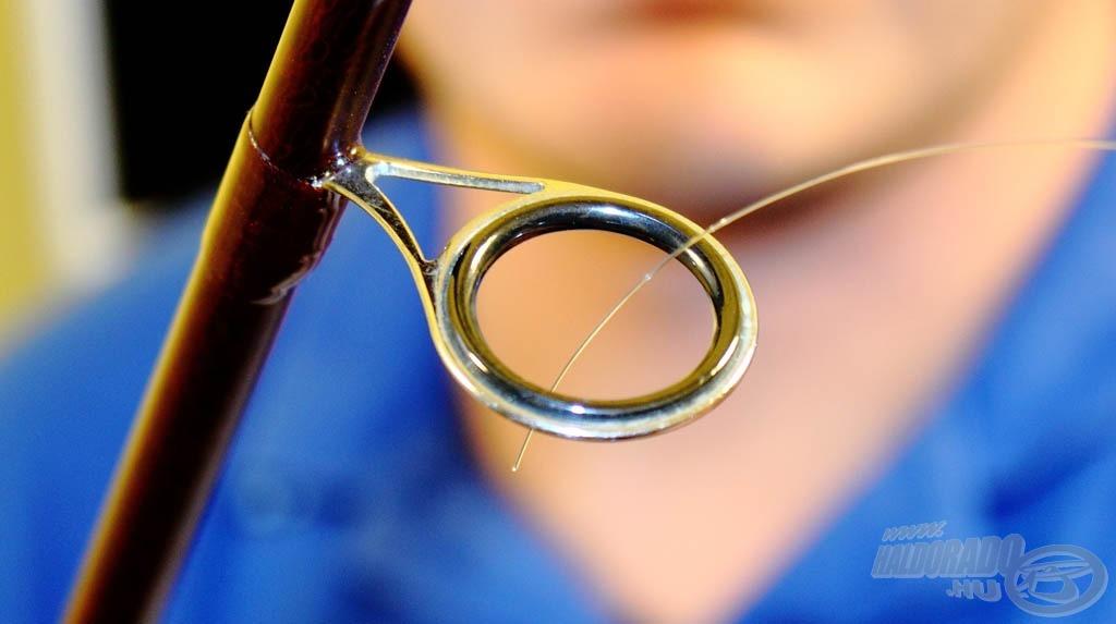 … legalább a keverőgyűrű legyen a bottagon, ez már megfelelő a zsinór feltekerésére