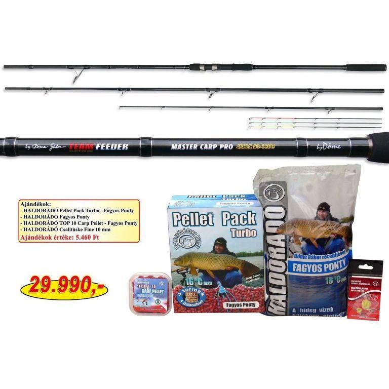 By Döme TEAM FEEDER Master Carp Pro 420LC + ajándék hideg vízi csomag