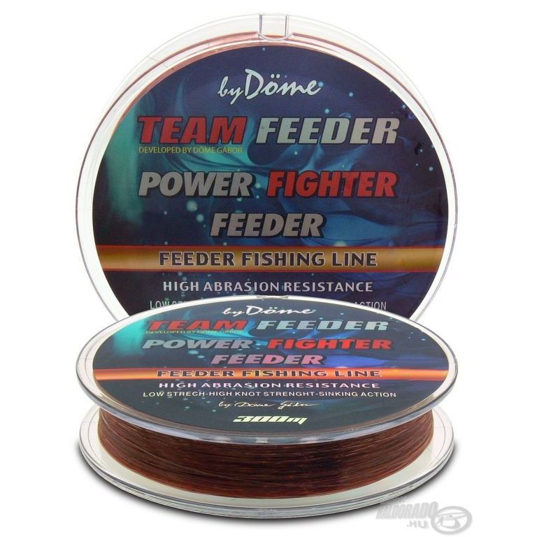 By Döme TEAM FEEDER Power Fighter Line 0,20 mm