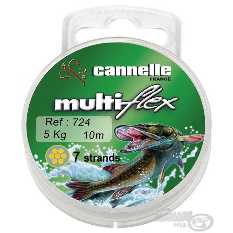 CANNELLE Multiflex 724 7 szálas köthető előke 10 m 7 kg