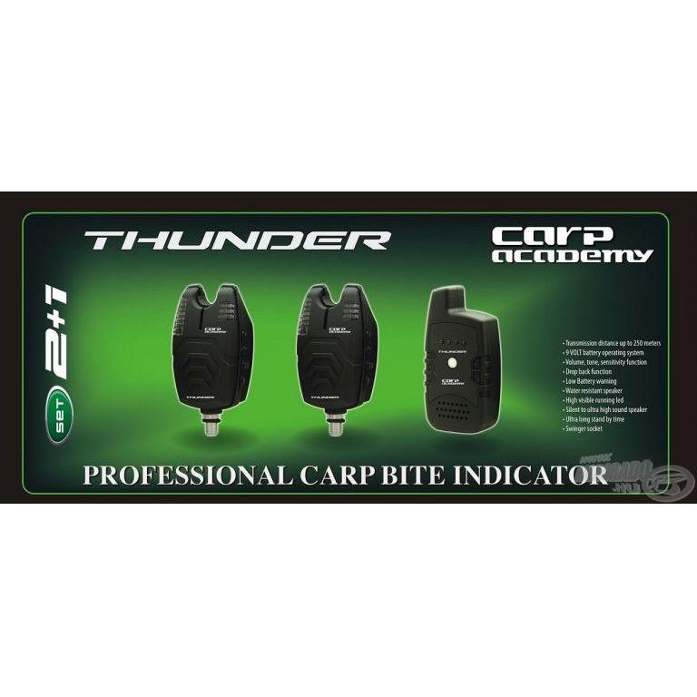 CARP ACADEMY Thunder elektromos kapásjelző szett 2+1 darabos