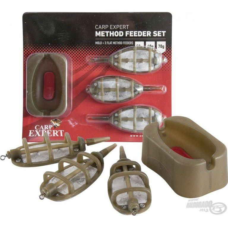 Carp Expert Method kosár pack 50+60+70 g