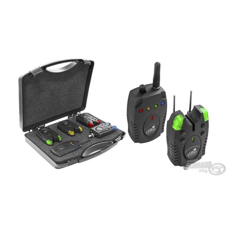 Carp Expert Piave elektromos kapásjelző készlet 3+1 darabos