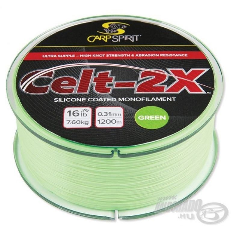 CARP SPIRIT Celt-2X Green 1400 m - 0,285 mm