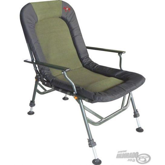 CARP ZOOM Pontyozó karfás fotel comfort Haldorádó horgász