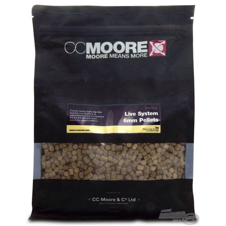 CCMoore Live System Pellets 6 mm 1 kg