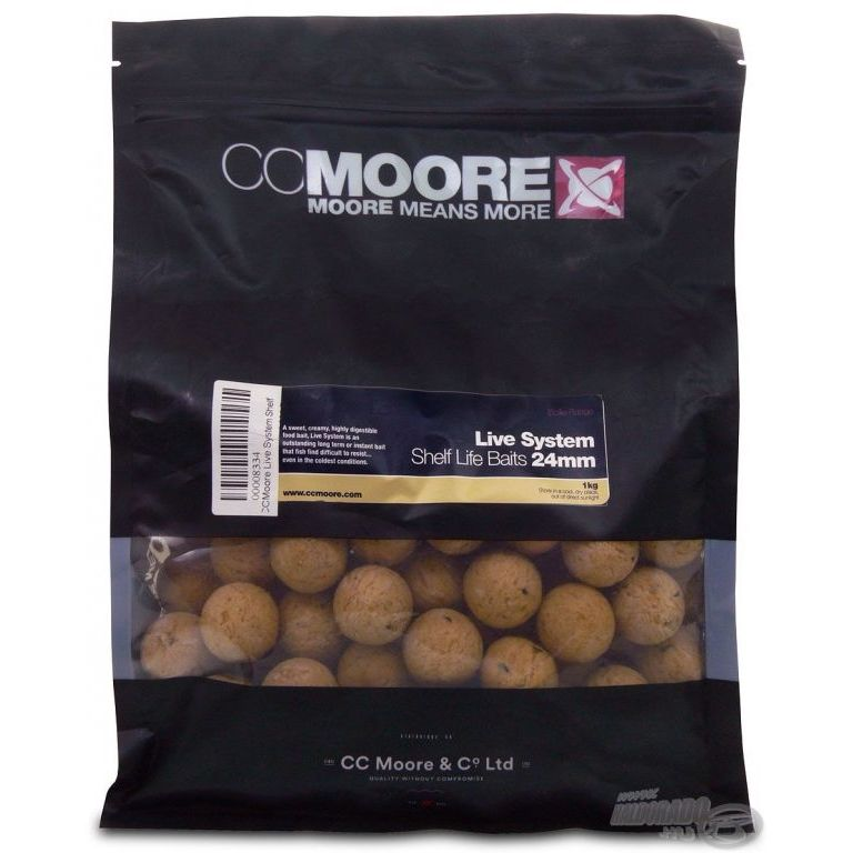CCMoore Live System Shelf Life 24 mm 1 kg