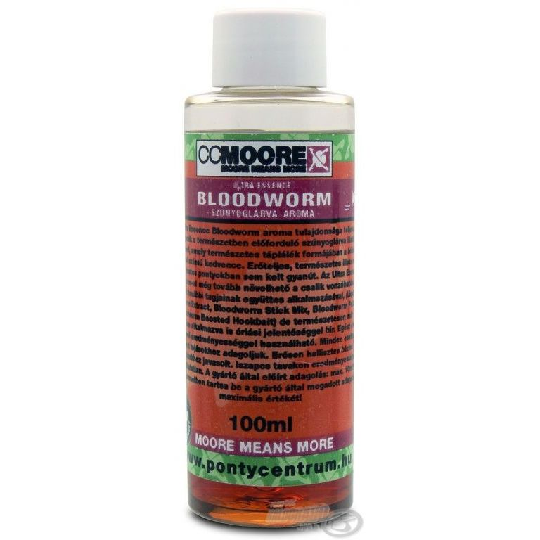 CCMoore Ultra Essence Bloodworm 100 ml - Szúnyoglárva aroma