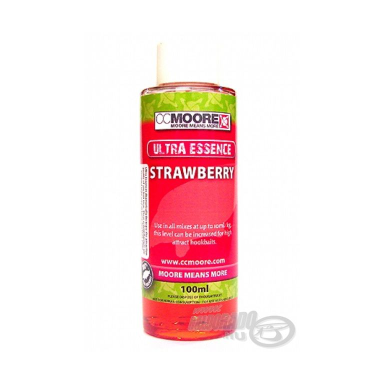 CCMoore Ultra Essence Strawberry 100 ml - Eper aroma