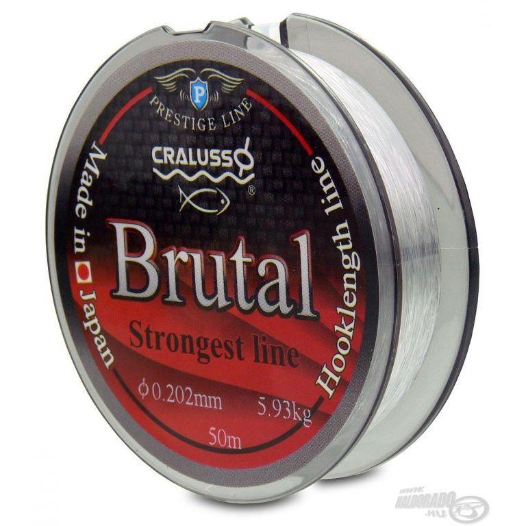 CRALUSSO Brutal előkezsinór 50 m - 0,18 mm