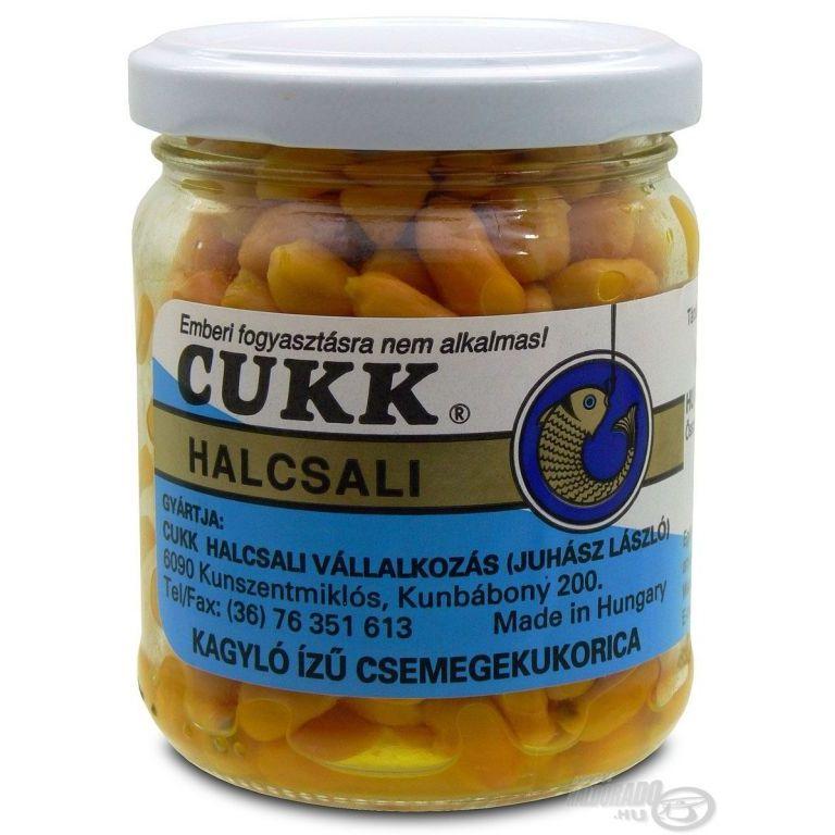CUKK Üveges pácolt kukorica - kagyló