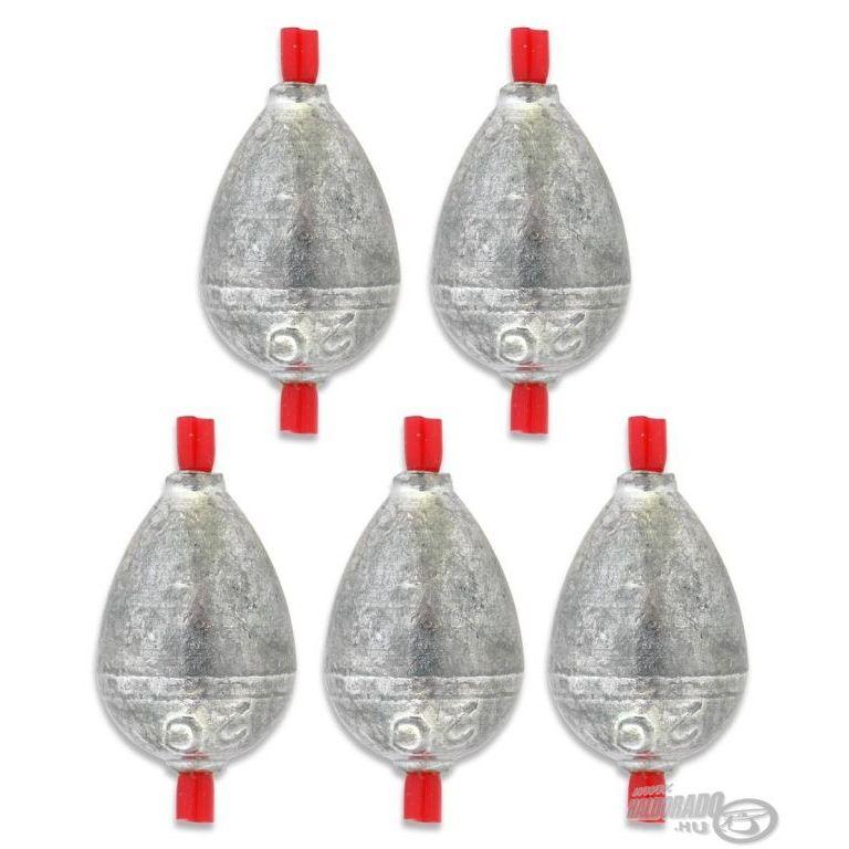 DEÁKY betétes cseppólom - 7 g - 5 db
