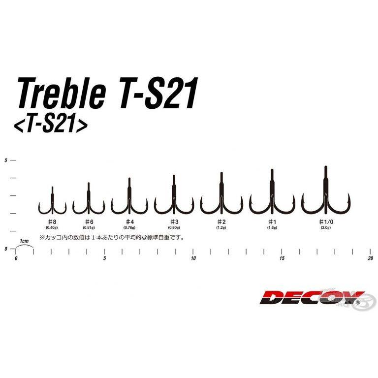 DECOY Treble T-S21 1