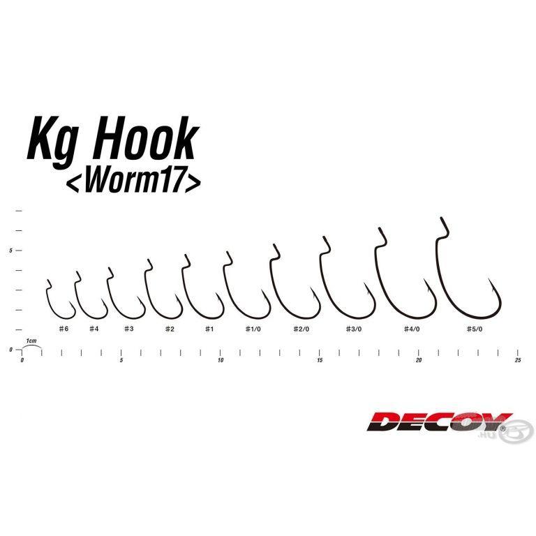 DECOY Worm 17 Kg - 1/0