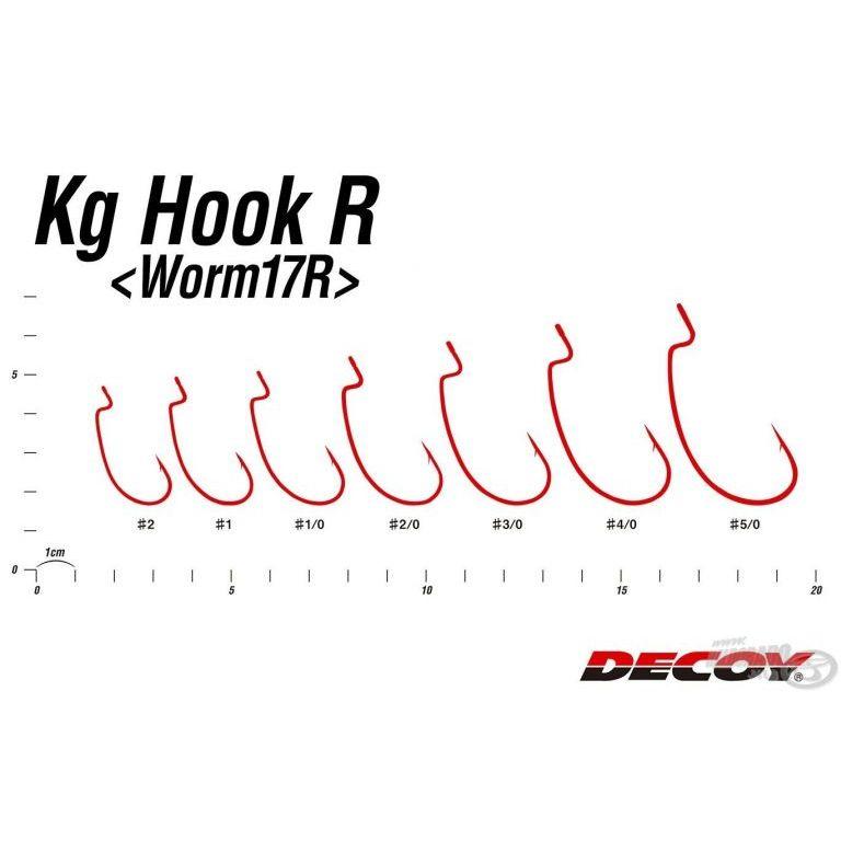 DECOY Worm 17R Kg - 4/0