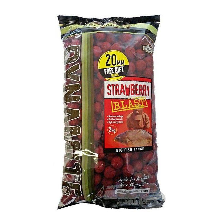 Dynamite Baits Strawberry Blast Shelf Life 20 mm 2 kg