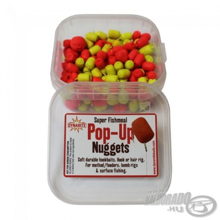 Dynamite Baits Super Fishmeal Pop-Up pellet Yellow/Red