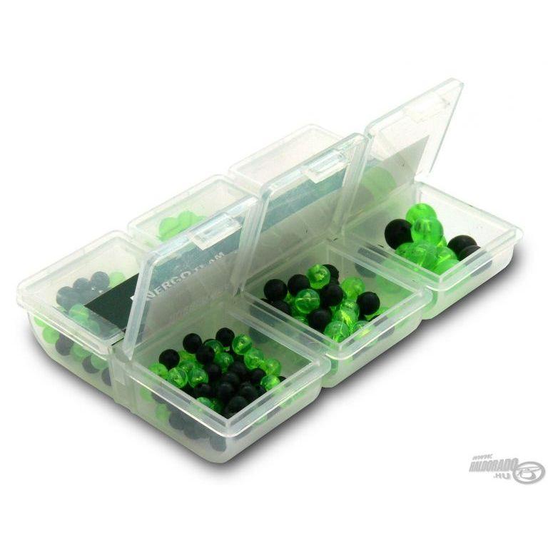 ENERGOTEAM Gumigolyó készlet fekete és zöld