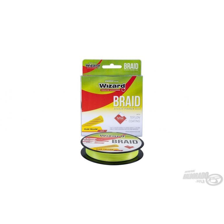 ENERGOTEAM Wizard Braid 135 m - 0,15 mm