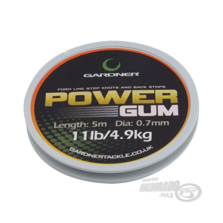 GARDNER Power Gum 5 m 22 Lbs