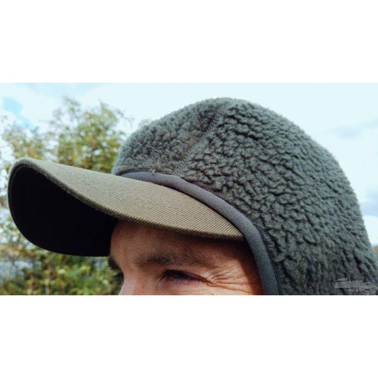 Geoff Anderson Teddy kapucnis kabát zöld XXXL
