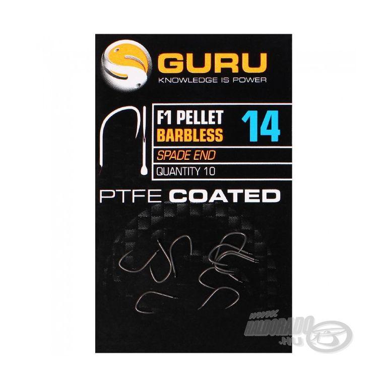 GURU F1 Pellet Barbless - 18
