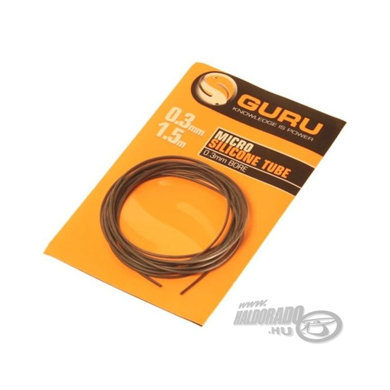 GURU Szilikoncső 0,3 mm 1,5 m