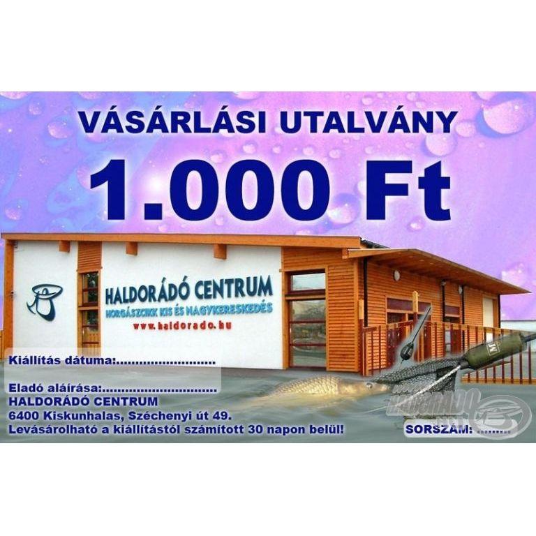 HALDORÁDÓ Ajándékutalvány 1000 Ft