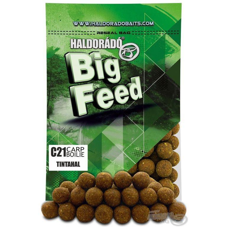 HALDORÁDÓ Big Feed - C21 Boilie - Tintahal 800 g