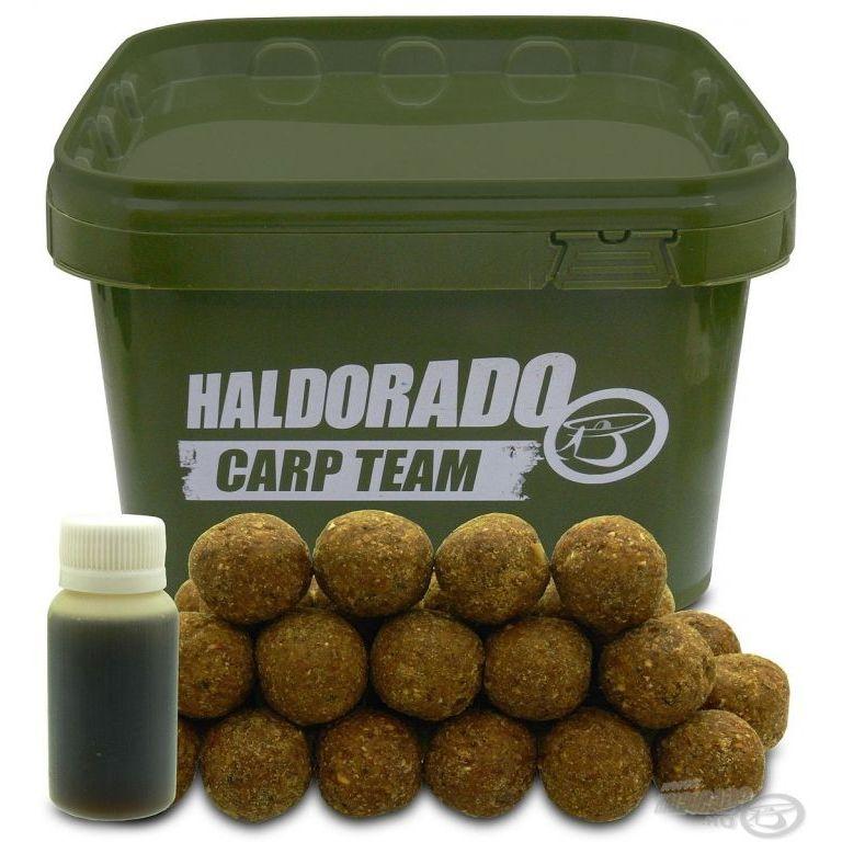 HALDORÁDÓ Big Feed - C21 Boilie - Tintahal vödrös