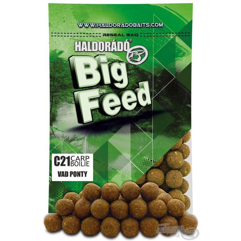 HALDORÁDÓ Big Feed - C21 Boilie - Vad Ponty 800 g