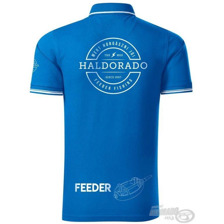 HALDORÁDÓ Feeder Team Perfection galléros póló XXL