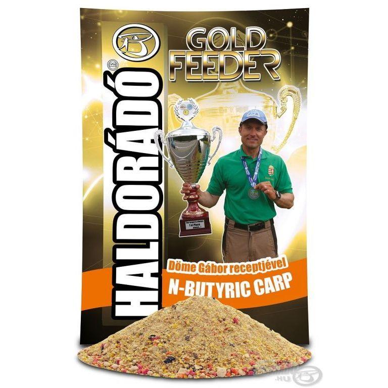HALDORÁDÓ Gold Feeder - N-Butyric Carp