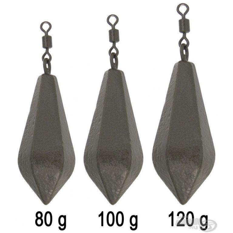 HALDORÁDÓ Hexagonal Lead Swivel 80 g