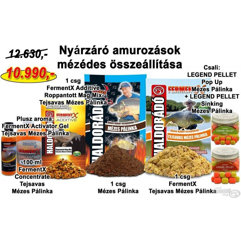 HALDORÁDÓ Nyári recept 14 - Nyárzáró amurozások mézédes összeállítása