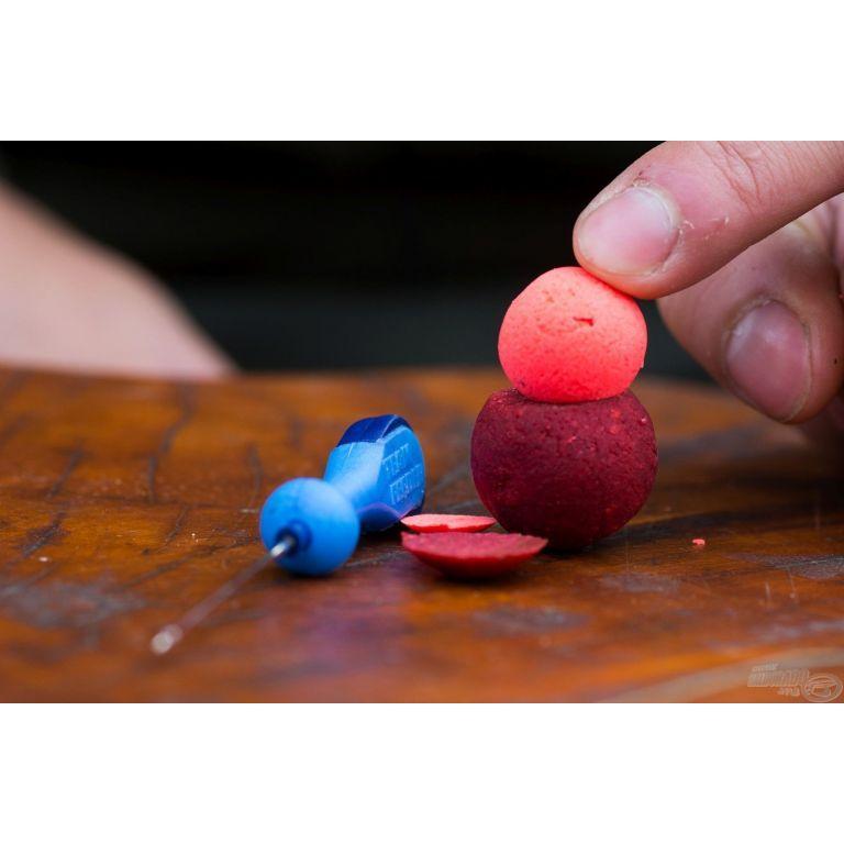 HALDORÁDÓ Pop Up főzött csalizó bojli - Kék Fúzió 16-20 mm