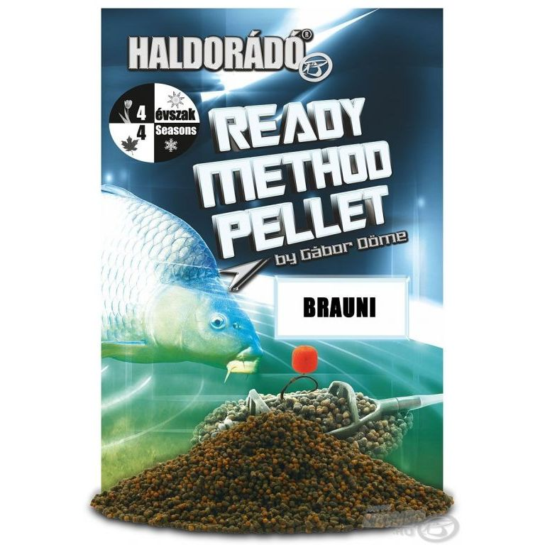 HALDORÁDÓ Ready Method Pellet - Brauni
