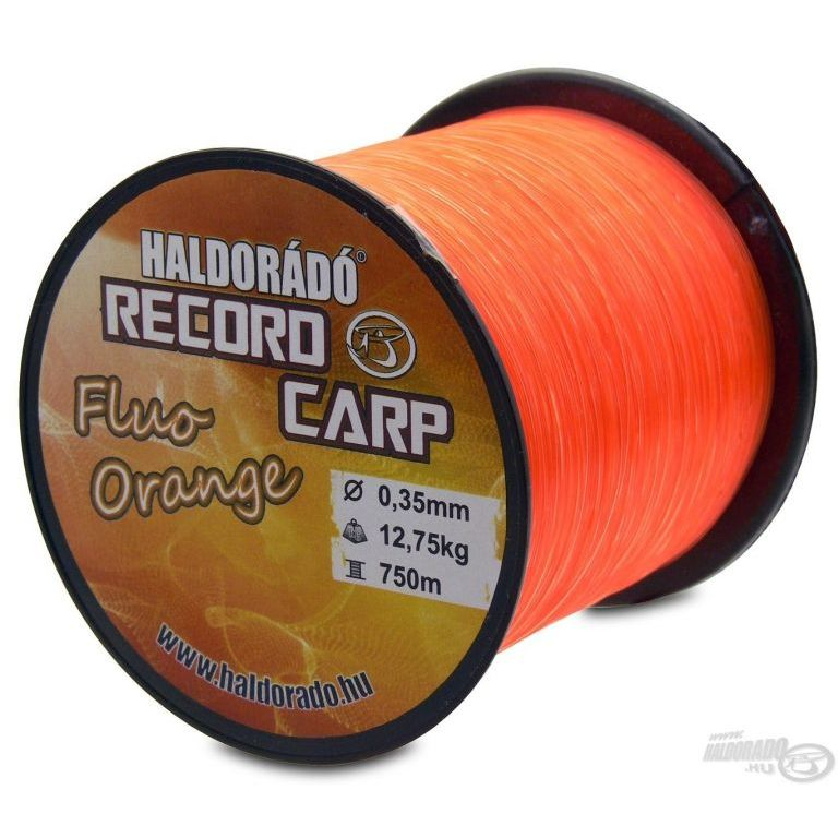 HALDORÁDÓ Record Carp Fluo Orange 0,22 mm / 900 m