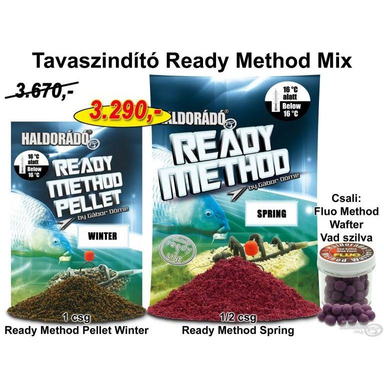 HALDORÁDÓ Tavaszi recept 1 - Tavaszindító Ready Method Mix