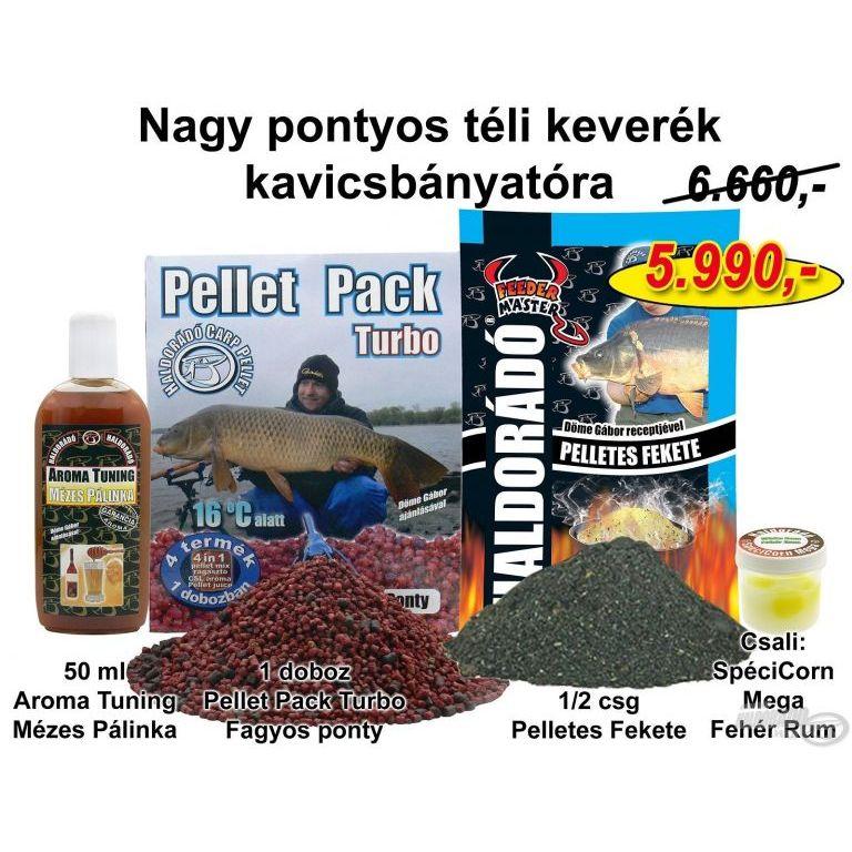 HALDORÁDÓ Téli recept 7 - Nagy pontyos téli keverék kavicsbányatóra