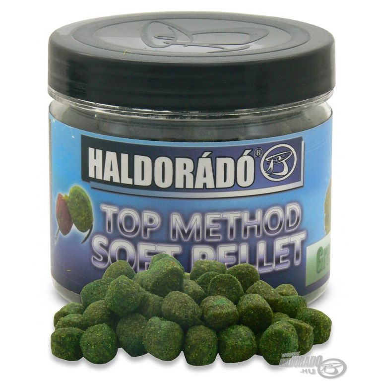 HALDORÁDÓ TOP Method Soft Pellet - Green Pepper