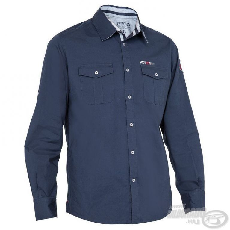 HALDORÁDÓ TRIBORD UPF 40+ UV szűrős ing sötétkék XL