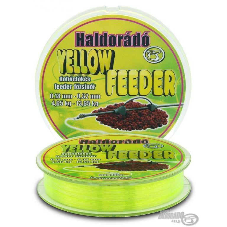HALDORÁDÓ Yellow Feeder 0,18+0,32 mm