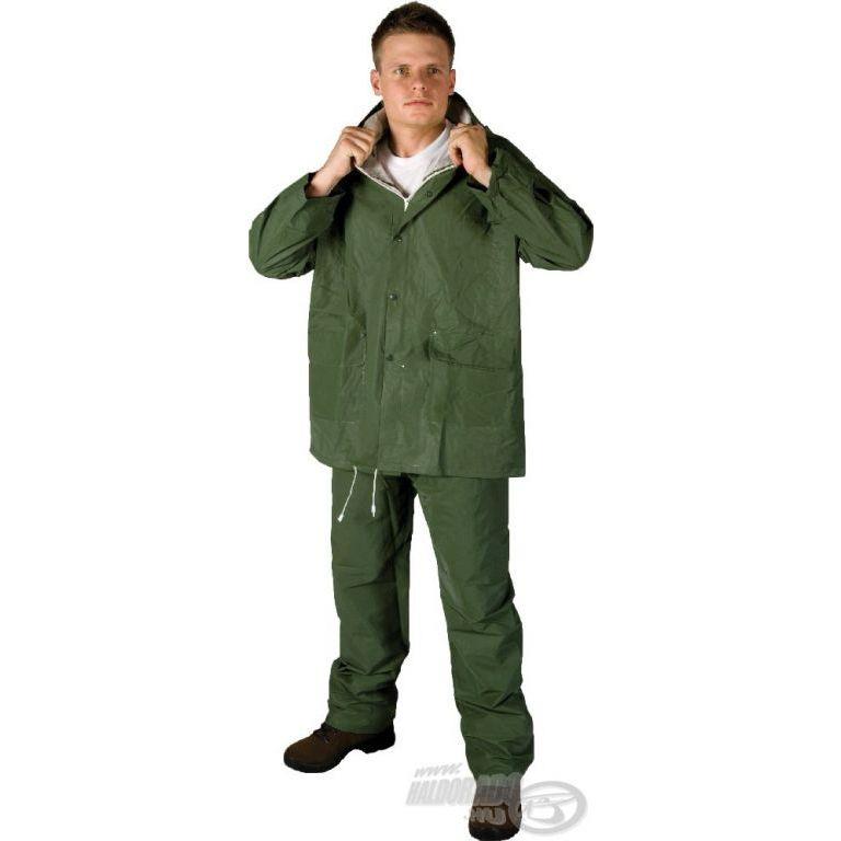HUGO PVC esőruha zöld XL