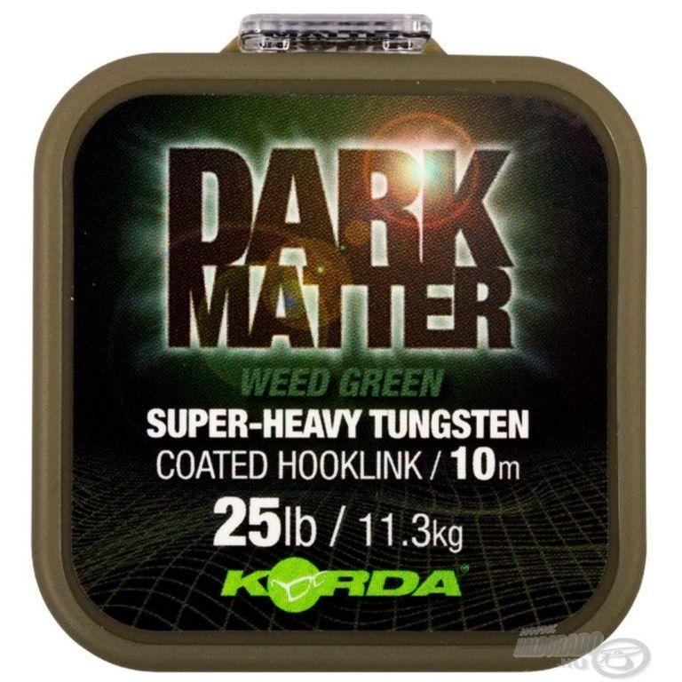 KORDA Dark Matter Tungsten Coated Braid Green 10 m - 18 Lbs