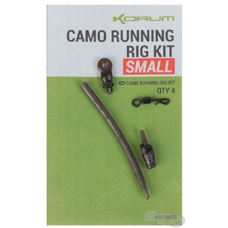 KORUM Feeder végszerelék - Camo Running Rig Kit S