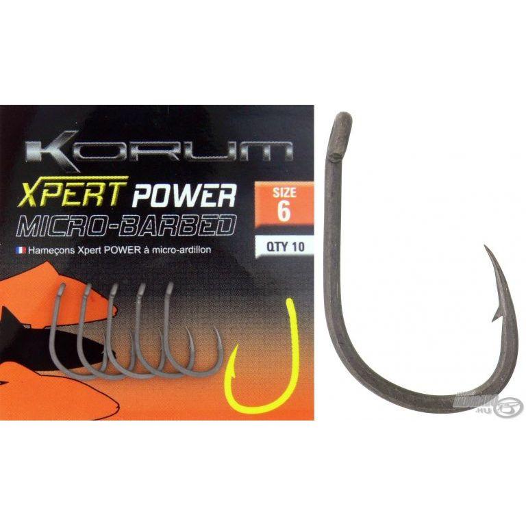KORUM Xpert Power Micro Barbed 10