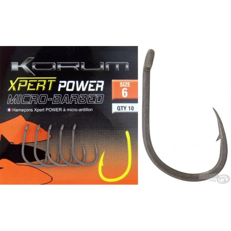 KORUM Xpert Power Micro Barbed 16